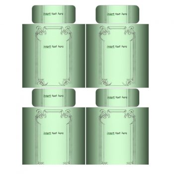 Green Wine Labels
