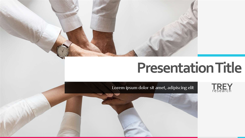 Bright Business Presentation Template