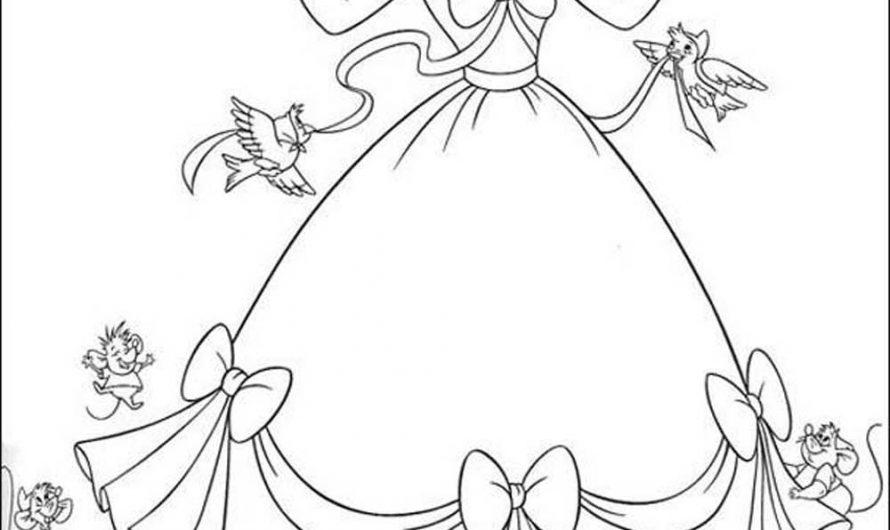Cinderella Coloring Booklet