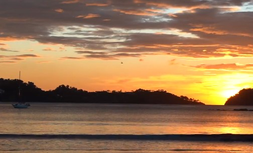 Costa Rican Dawn Virtual Background