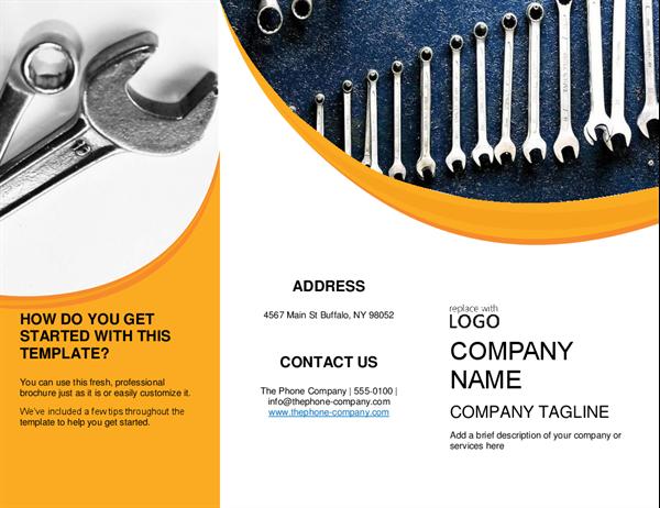Handyman Brochure