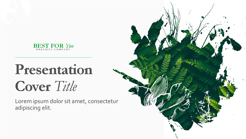 Organic Presentation Template