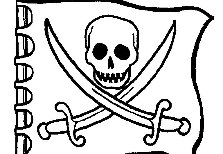 Pirates Coloring Booklet