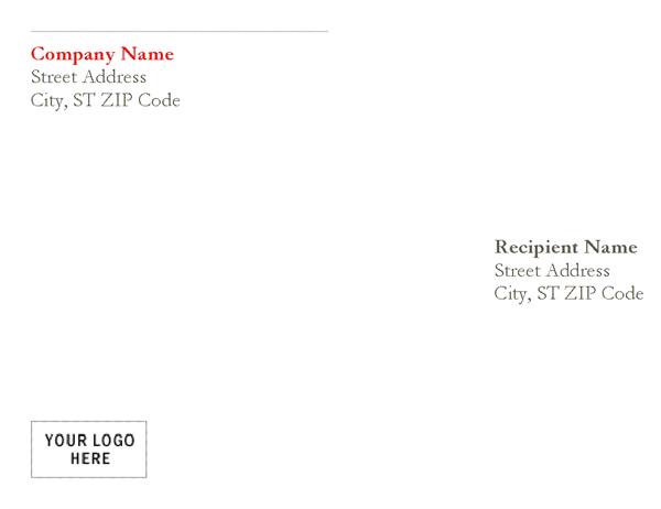 Red Lettered Envelope
