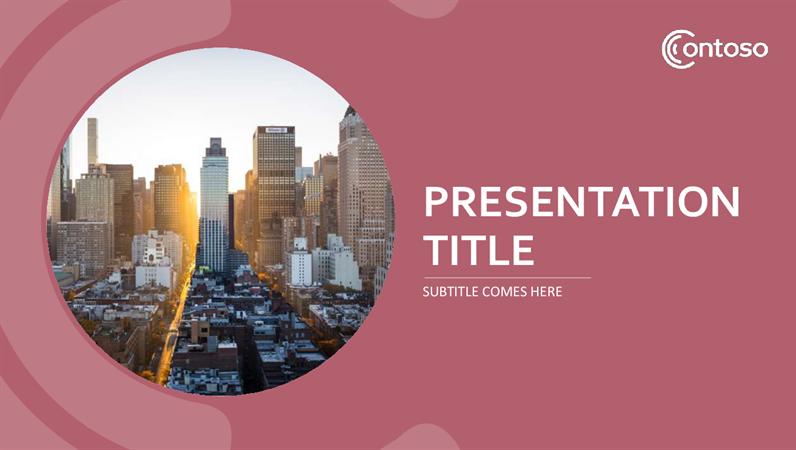 Rose Suite Presentation Template