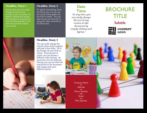 School Tiles Brochure