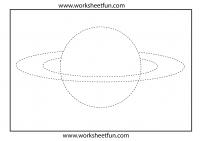 Planet Trace Worksheet